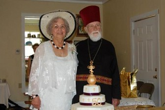 Father Benedict and Matushka Jewel Monica